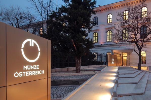 Gebäude von Münze-Österreich