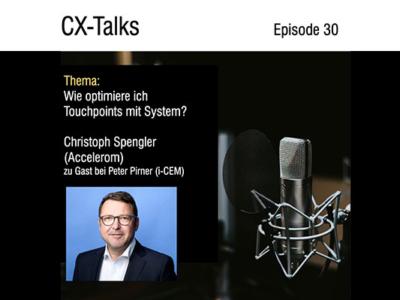 CX-Talks: Wie optimiere ich Touchpoints mit System