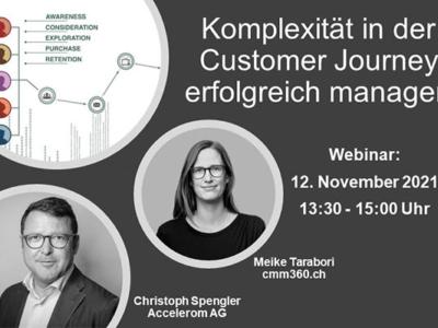Webinar: Komplexität in der Customer Journey erfolgreich managen